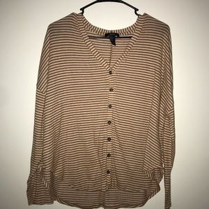 Simple forever 21 slouchy shirt